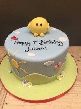 Small Mr Happy Cake